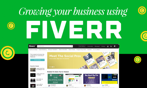 How I Used Fiverr To Grow My Freelance Creative Business