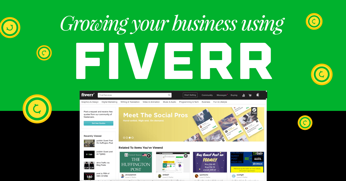 "How I Used Fiverr To Grow My Freelance Creative Business<span class=""wtr-time-wrap after-title""><span class=""wtr-time-number"">12</span> min read</span>"