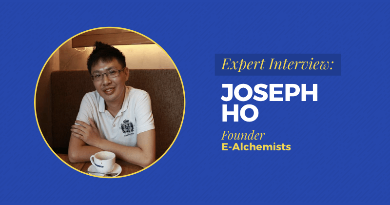 "Expert Interview: Joseph Ho SEO Specialist Now Runs Digital Marketing Agency After 5 Failed Businesses<span class=""wtr-time-wrap after-title""><span class=""wtr-time-number"">8</span> min read</span>"