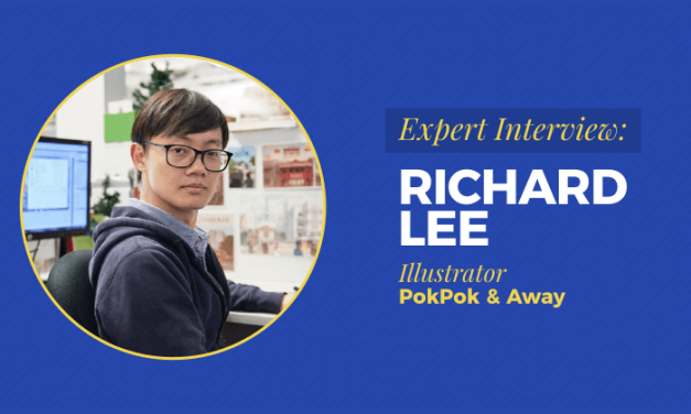 Expert Interview: Richard Lee, Freelance Illustrator Lives His Passion Drawing For Big Clients