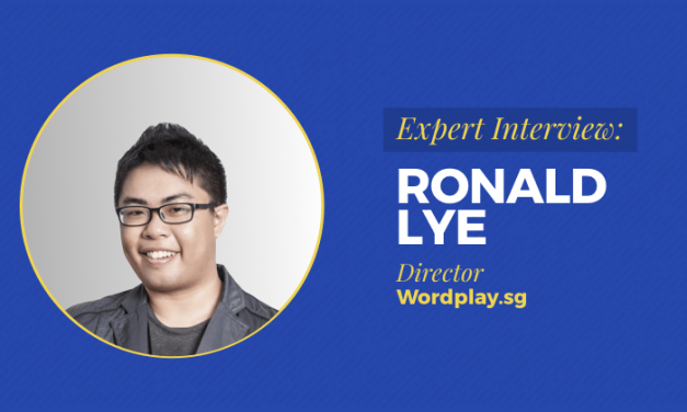 Expert Interview: Ronald Lye, With Only $108 In The Bank, He Now Runs Top Copywriting Agency